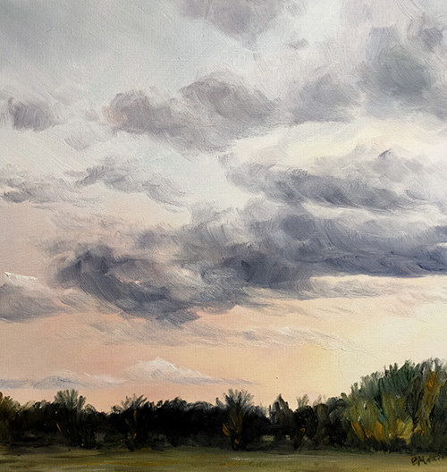 oil painting big skies course